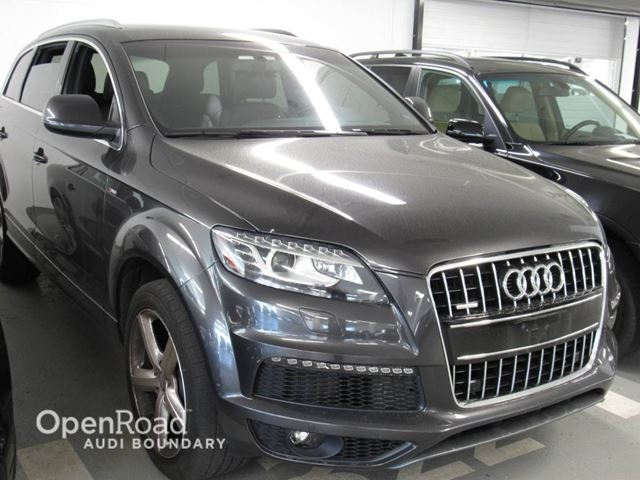 2014 AUDI Q7 quattro 4dr 3.0T Sport Land of quattro Edition  in Vancouver, British Columbia