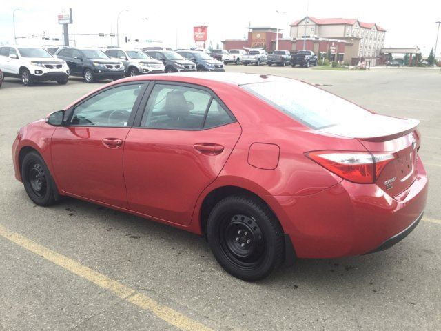 used 2014 toyota corolla s leather sunroof edmonton leather heated seats sunroof back. Black Bedroom Furniture Sets. Home Design Ideas