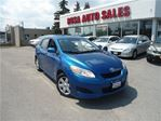 2009 Toyota Matrix XR AUTO 5 DR HATCH PW PL PM A/C NO ACCIDENT NEW F in Oakville, Ontario