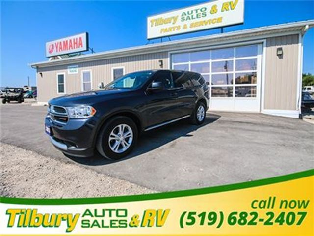 2013 DODGE DURANGO SXT **WEEKLY PAYMENTS AS LOW AS $110** in Tilbury, Ontario