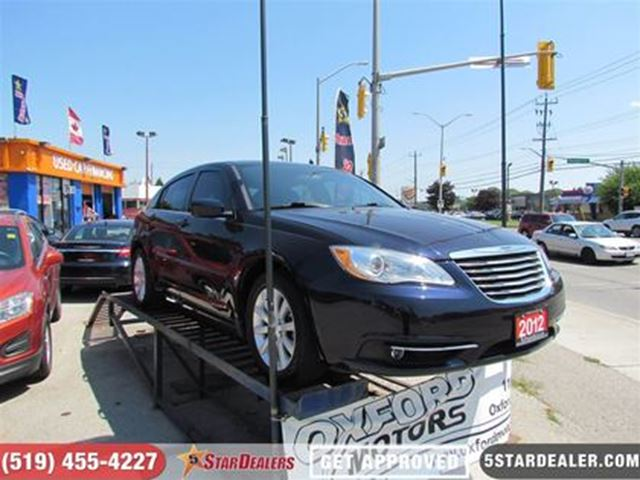 2012 CHRYSLER 200 TOURING   SAT RADIO   ALLOYS in London, Ontario