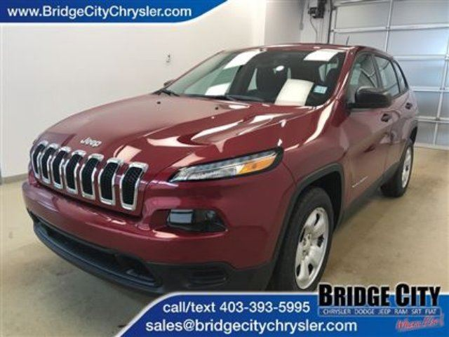 2017 JEEP CHEROKEE Sport in Lethbridge, Alberta