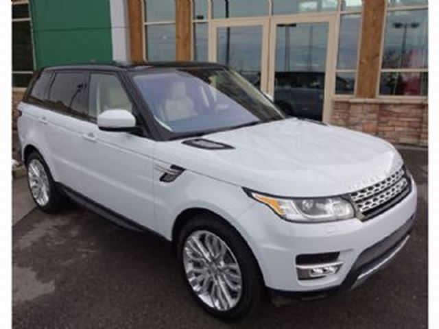 2017 LAND ROVER RANGE ROVER Sport 4WD  Td6 HSE  ~ DIESEL ~ LOADED in Mississauga, Ontario
