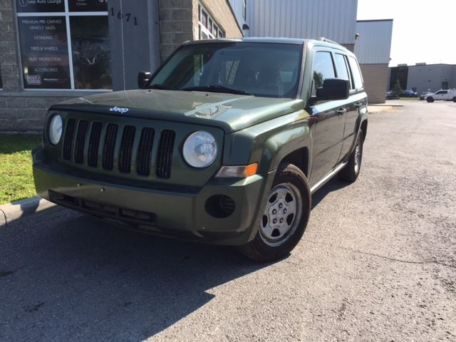 2008 Jeep Patriot Sport - FRESH TRADE-IN! YOU CERTIFY YOU SAVE!! AUTO, 4-CYL, A/C, POWER GROUP, CD! in Orleans, Ontario
