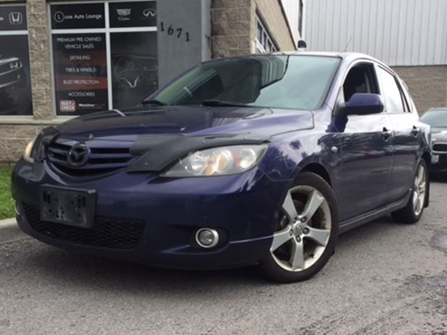 2006 Mazda MAZDA3 GS - FRESH TRADE-IN! YOU CERTIFY, YOU SAVE!! in Orleans, Ontario
