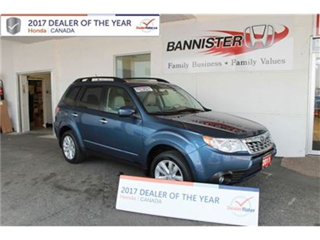 2011 SUBARU FORESTER 2.5 Touring Sport in Vernon, British Columbia