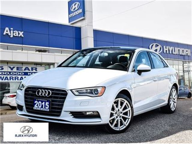 2015 AUDI A3 2.0T Progressiv AWD Sunroof  Heated Seats in Ajax, Ontario