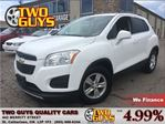 2014 Chevrolet Trax 1LT   GM LEASE RETURN   FWD   ALLOYS in St Catharines, Ontario