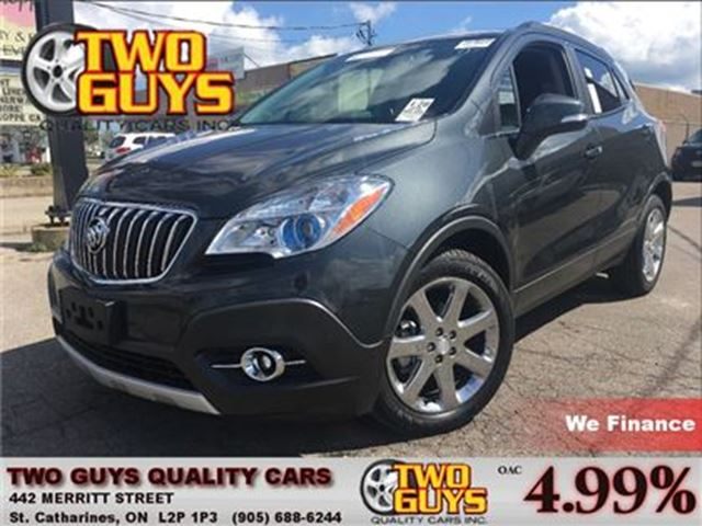 2016 BUICK ENCORE PREMIUM  LEATHER   NAV   SUNROOF   FWD in St Catharines, Ontario