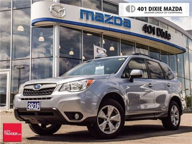 2016 SUBARU Forester 2.5i Convenience Package w/PZEV in Mississauga, Ontario