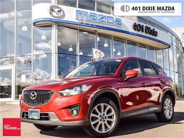 2014 MAZDA CX-5 GT TECH PKG, NAVIGATION, ALLOY WHEELS in Mississauga, Ontario