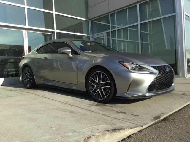 2015 LEXUS RC 350 BLIND SPOT/NAV/BACK UP/HEATED AND COOLED SEATS in Edmonton, Alberta