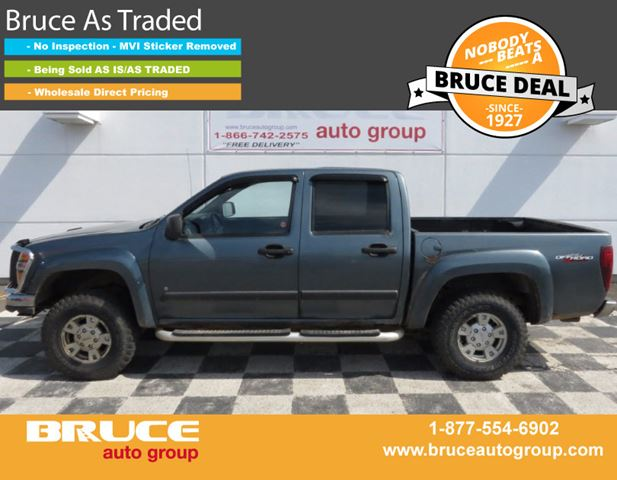 2006 GMC CANYON SLE 3.5L 5 CYL AUTOMATIC 4X4 CREW CAB in Middleton, Nova Scotia
