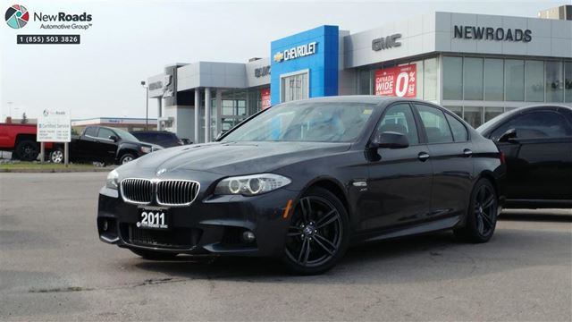 2011 BMW 5 SERIES xDrive i xDrive, Mpkg, No Accident, Only 2 Prev Owners in Newmarket, Ontario