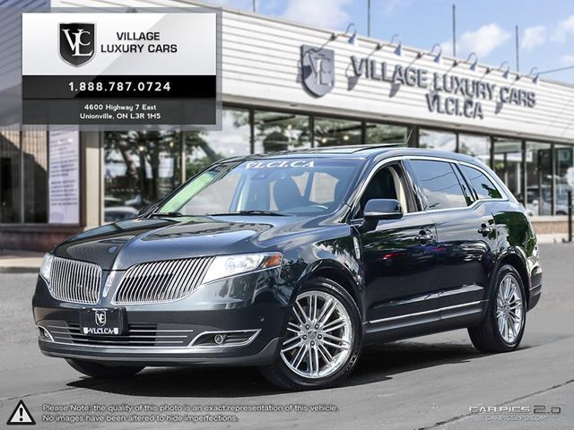 2013 LINCOLN MKT EcoBoost NAVIGATION | CAPTAINS CHAIRS | REAR CAM | AWD | LINCOLN SERVICED in Markham, Ontario