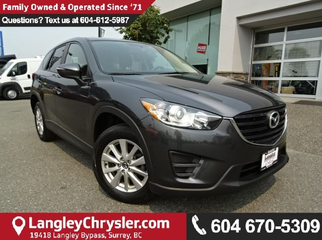 2016 MAZDA CX-5 GX *ONE OWNER * LOCAL BC SUV * DEALER INSPECTED * in Surrey, British Columbia