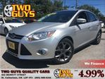 2013 Ford Focus SE   ALLOYS     HTD SEATS   HB in St Catharines, Ontario