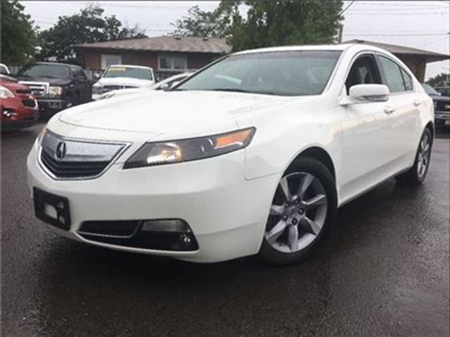 2013 ACURA TL LEATHER  SUNROOF  FWD   ALLOYS in St Catharines, Ontario