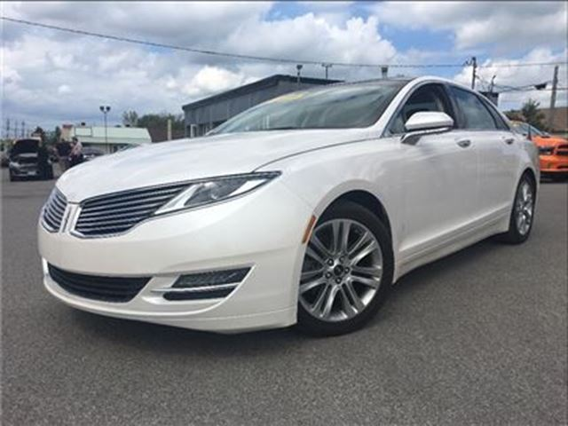 2013 LINCOLN MKZ NAV  PANOROOF   2.0L   HAZELNUT LTHR in St Catharines, Ontario