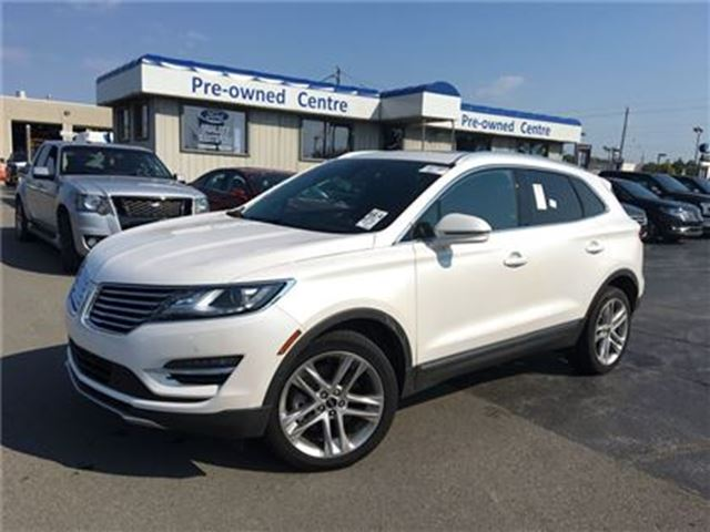 2017 LINCOLN MKC Reserve AWD 2.3L in Burlington, Ontario