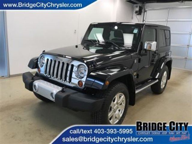 2013 JEEP WRANGLER Sahara in Lethbridge, Alberta