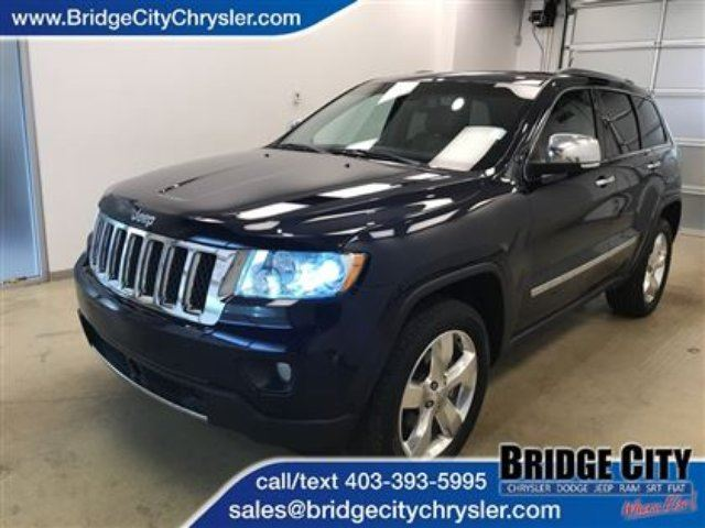 2012 JEEP GRAND CHEROKEE Overland in Lethbridge, Alberta