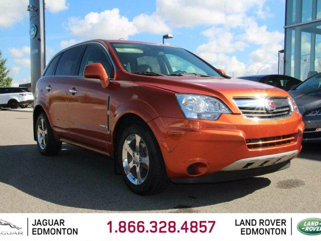 2008 SATURN VUE Local One Owner Trade In | Very Low KMs | Climate Control with AC | 172 Horsepower | All Power Options | Remote Entry | Spacious Interior | 17 Inch Wheels | Well Looked After | Awesome Color Combo | Great Fuel Mileage in Edmonton, Alberta