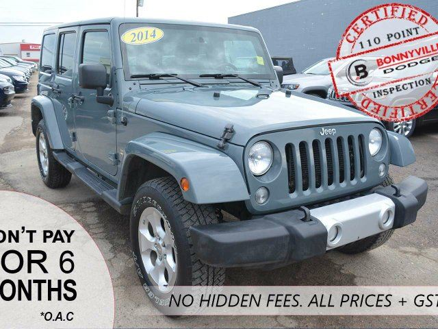 2014 JEEP WRANGLER Unlimited Sahara in Bonnyville, Alberta