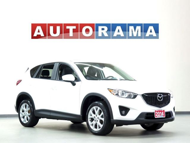 2014 Mazda CX-5 GT 4WD NAVIGATION LEATHER SUNROOF BACKUP CAM in North York, Ontario