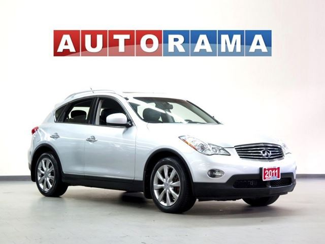 2011 Infiniti EX35 4WD BACKUP CAM LEATHER BLUETOOTH ALLOYS in North York, Ontario