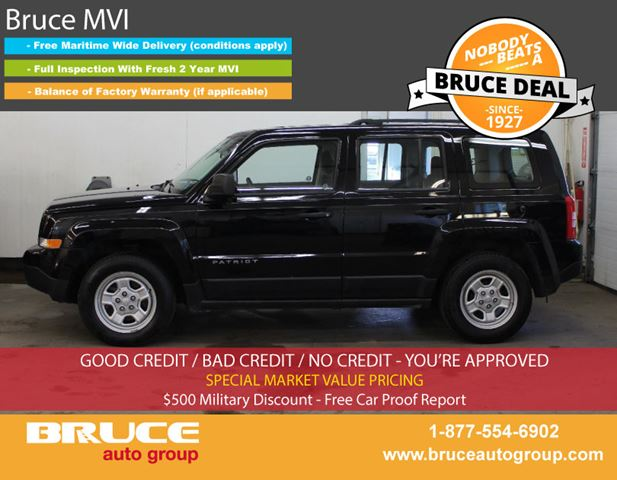 2014 JEEP PATRIOT SPORT 2.4L 4 CYL 5 SPD MANUAL FWD in Middleton, Nova Scotia