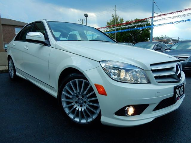 2008 MERCEDES-BENZ C-CLASS C230  6 SPEED MT  LEATHER.ROOF  NO ACCIDENT in Kitchener, Ontario