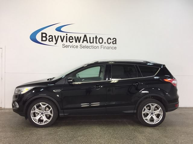 2017 FORD ESCAPE TITANIUM- 4WD! ROOF! NAV! BLIS! APA! PWR TRUNK! in Belleville, Ontario