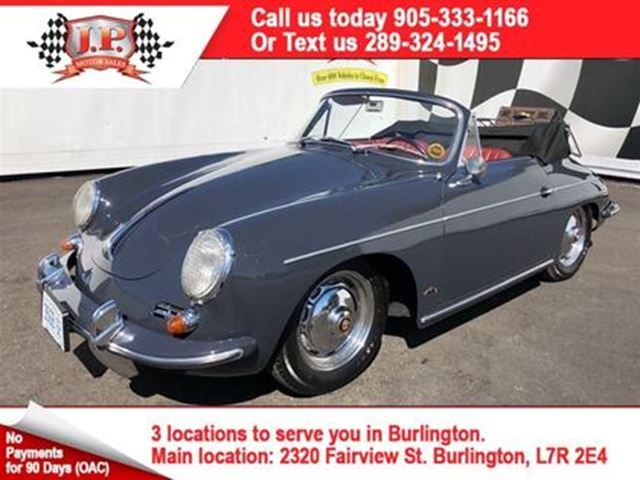 1962 PORSCHE 356 S in Burlington, Ontario