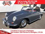 1962 Porsche 356 B Convertible, 1500km Since Complete Rebuild in Burlington, Ontario