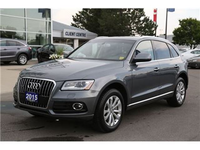 2015 AUDI Q5 3.0T Technik quattro in London, Ontario