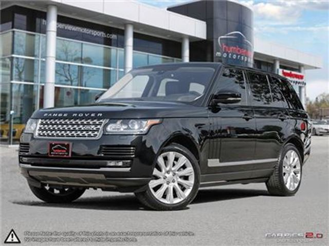 2016 LAND ROVER RANGE ROVER 5.0L V8 Supercharged in Mississauga, Ontario
