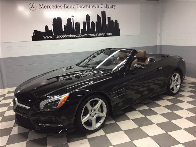 2016 MERCEDES-BENZ SL-CLASS SL550 Exclusive Advanced Driving Night View+ in Calgary, Alberta
