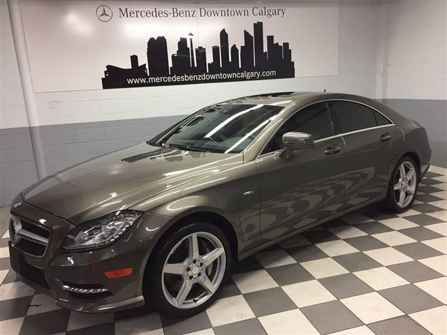 2012 MERCEDES-BENZ CLS-CLASS CLS550 4MATIC Advanced Driving Premium+ in Calgary, Alberta