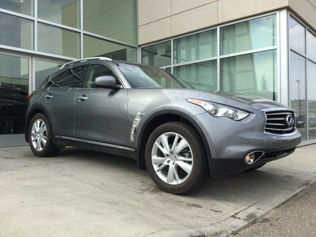 2012 INFINITI FX35 HEATED COOLED SEATS/AROUND VIEW MONITOR/NAVIGATION/BOSE AUDIO in Edmonton, Alberta