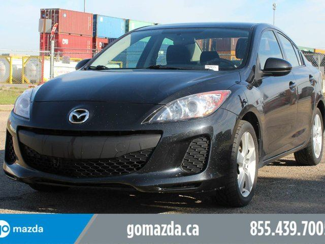 2013 MAZDA MAZDA3 GX A/C PWR WINDOW AND LOCKS LOCAL in Edmonton, Alberta