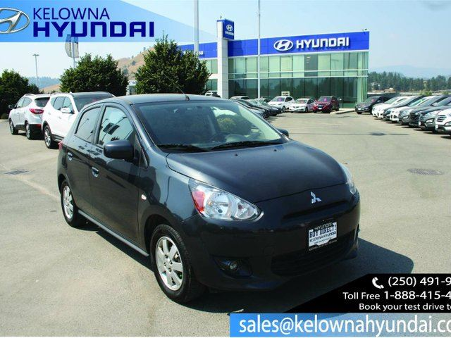2014 MITSUBISHI MIRAGE SE 4dr Hatchback in Kelowna, British Columbia