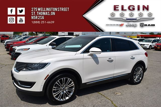 2016 LINCOLN MKX Reserve in St Thomas, Ontario