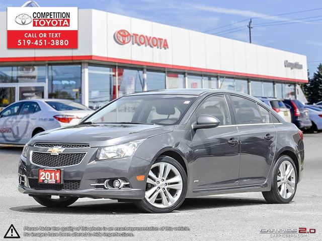 2011 CHEVROLET CRUZE LT Turbo One Owner, No Accidents in London, Ontario