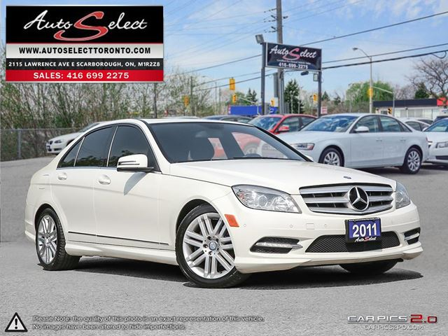 2011 MERCEDES-BENZ C-CLASS 4Matic C250 AWD ONLY 128K! **NOT A MIS-PRINT** SPORT PKG in Scarborough, Ontario