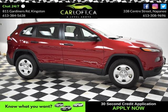 2017 JEEP CHEROKEE SPORT 4X4- BLUETOOTH*CRUISE*A/C in Kingston, Ontario