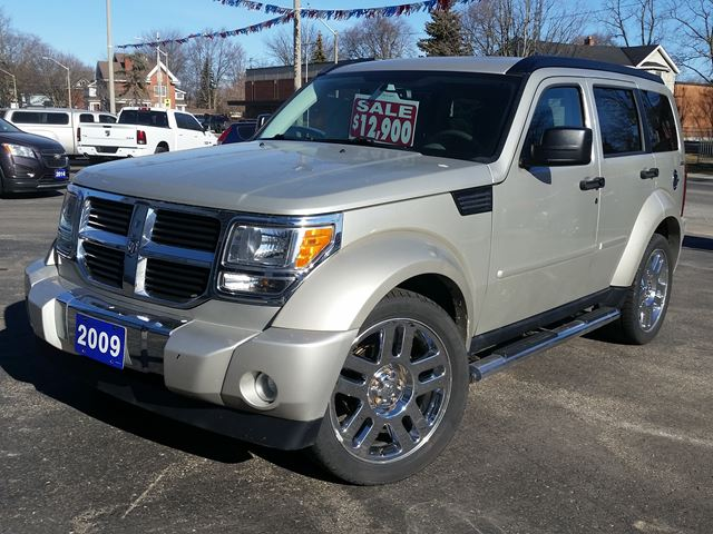 2009 Dodge Nitro SLT,4X4,SUNROOF,NAVIGATION,CHROME WHEELS,LOCAL TRADE,LOW KLM'S in Dunnville, Ontario