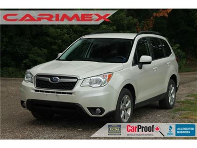 2014 SUBARU FORESTER 2.5i Convenience Package ONLY 28K   CERTIFIED in Kitchener, Ontario