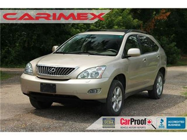 2008 LEXUS RX 350 Sunroof   Leather   Heated Seats in Kitchener, Ontario