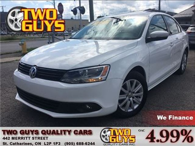 2013 VOLKSWAGEN JETTA COMFORTLINE   SUNROOF   HTD SEAT  ALLOYS in St Catharines, Ontario